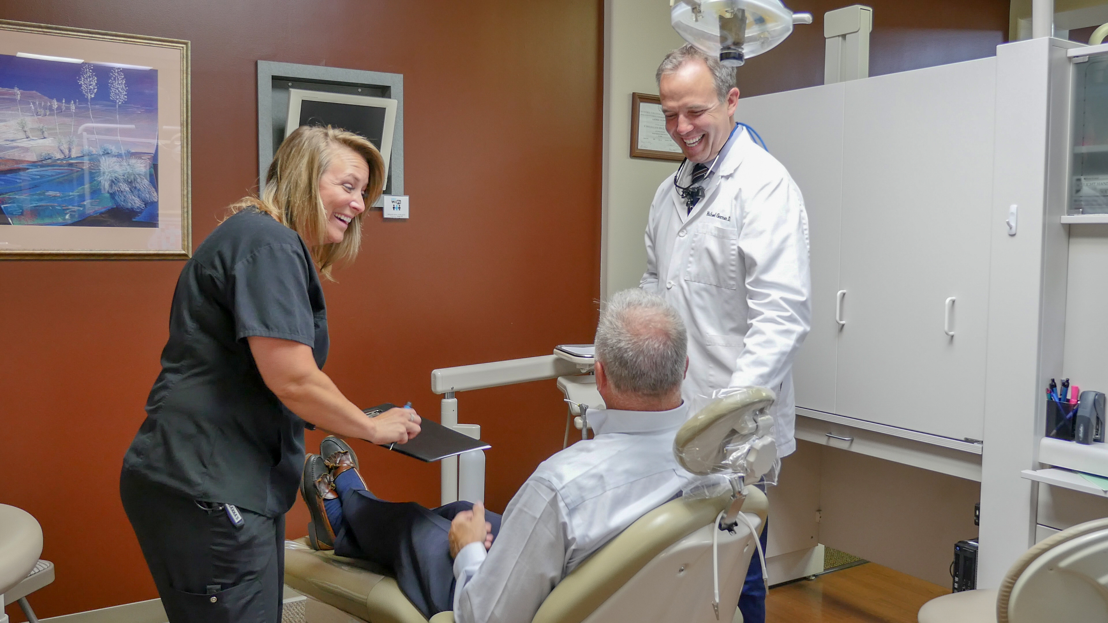 dentist centreville